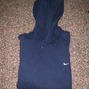 Worn hoodie